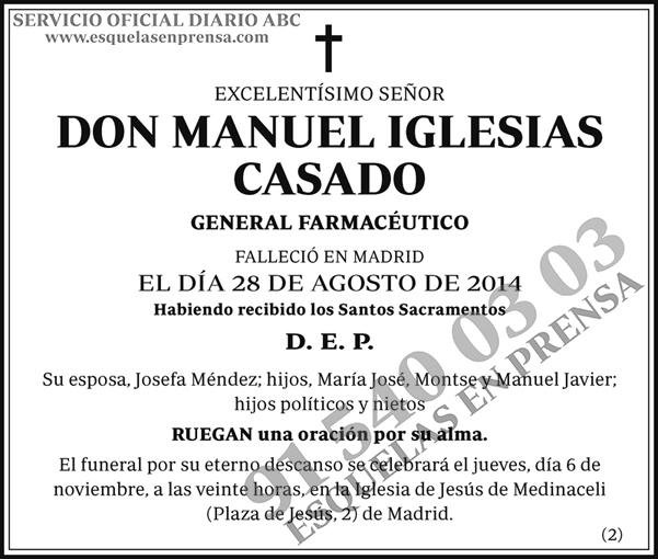 Manuel Iglesias Casado